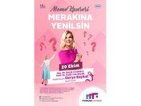 Meme Kanseri 'Merakına Yenilsin' Halk Buluşmaları Forum Kayseri'de