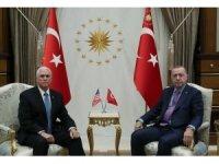 Cumhurbaşkanı Erdoğan Pence'i kabul ediyor