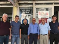 Başkan Alkayış 33 mahalle muhtarıyla tek tek buluştu