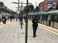 Koltuk yandı, Marmaray seferleri durdu