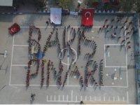 Bedenleriyle 'Barış Pınarı' yazan öğrencilerden Mehmetçiğe destek