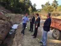 Aslanapa'da köylerin su ihtiyacı karşılanıyor