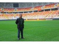 Yeni Malatya Stadyumu'nun zemini yoğun bakımda