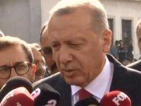 Cumhurbaşkanı Erdoğan: Şu andan itibaren 120 saatlik bir süreç işliyor