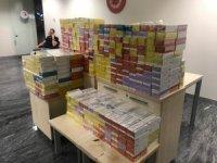 Ukraynalı turist 7 bin 830 paket elektronik sigarayla yakalandı