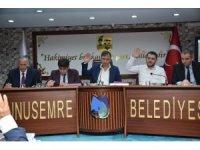 Yunusemre Meclisi'nden Barış Pınarı Harekatına tam destek
