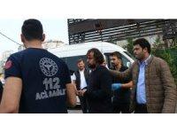 Şişli'de yabancı uyruklu kadın tartıştığı adamın başına tavayla vurdu