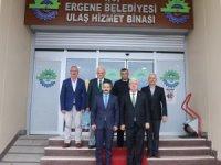 Ergene Kaymakamı Taşçı'dan Belediye Başkanı Yüksel'e ziyaret