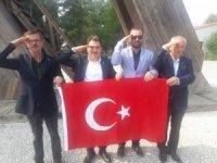 Başkan Ölçek'ten Mehmetçiğe asker selamı