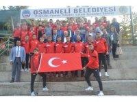 1308 Osmaneli Belediyespor ile Bilecikspor dostluk yemeğinde buluştu