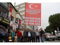 Samsun esnafı Mehmetçik'in yanında