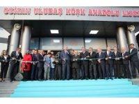Cumhurbaşkanı Erdoğan, Osman Ulubaş Köşk Anadolu Lisesi'ni açtı