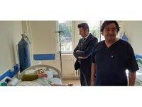 Bozyazı Kaymakamı Yalçın, tedavi gören hastaları ziyaret etti