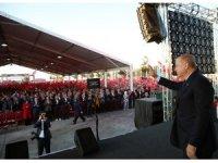 """Cumhurbaşkanı Erdoğan: """"Ortak bildiriye uyulmazsa 120 saat bittiği anda harekata devam ederiz"""""""