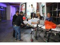 Karaman'da baba ve oğlu silahla bacaklarından vuruldu
