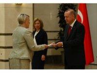 Cumhurbaşkanı Erdoğan, İrlanda Büyükelçisini kabul etti
