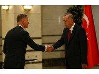 Cumhurbaşkanı Erdoğan, Finlandiya Büyükelçisini kabul etti