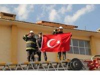 İtfaiyecilerden 'Barış Pınarı Harekatı'na destek