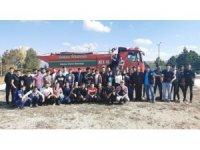 DPÜ KTBMYO'da Orman Yangınları Uygulamalı Eğitimi
