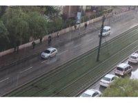Gaziantep'te şiddetli yağış etkili oldu