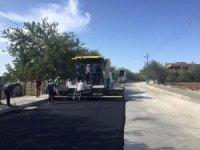 Dede Yolu'nda aşınan yollar asfaltlanıyor
