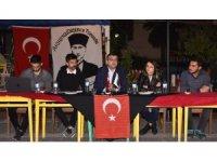 Başkan Öz, ÇOMÜ öğrencileriyle bir araya geldi