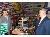 Vali Aykut Pekmez'den Besni esnafı ve STK'lara ziyaret