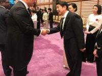 Bakan Ersoy, Japonya İmparatoru'nun tahta çıkma törenine katıldı
