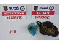 Elazığ'da uyuşturucu operasyonları: 9 tutuklama