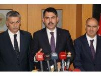 """Bakan Kurum: """"1 milyon Suriyeli kardeşimizi ana vatanlarında yaşatacağız"""""""