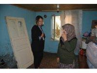 2 zihinsel engelli çocuk annesine belediyeden yardım eli