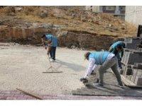 Eyyübiye'de yol yapım çalışmaları devam ediyor