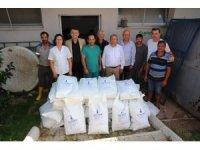 Sokak hayvanlarına 1.5 ton mama yardımı