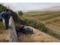Kontrolden çıkan otomobil takla atıp şarampole yuvarlandı: 2'si ağır, 4 yaralı
