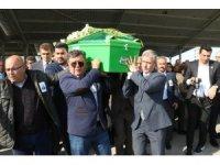 Gazeteci Aykut Tuzcu son yolculuğuna uğurlandı