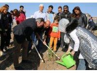 NEVÜ'de 11.11'de 11 bin fidan toprakla buluşturuldu
