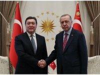 Cumhurbaşkanı Erdoğan, Kazakistan Başbakanı'nı kabul etti