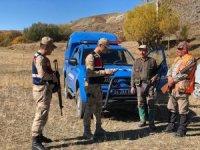 Erzincan'da avlaklar kontrol edilerek, avcılara yönelik bilgilendirme yapıldı