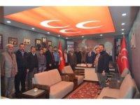 MHP Erzurum İl Başkanı Karataş meclis üyeleri ile istişare etti