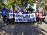Gaziantep Kamu-Sen üyeleri siyasi parti liderlerine mektup gönderdi