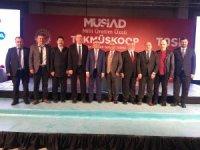 Çınar, MÜSİAD Milli Üretim Üssü TEKMÜSKOOP'un temeli atma törenine katıldı