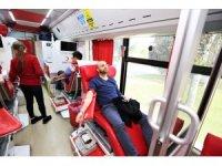 TEI çalışanları kan bağışı yaptı