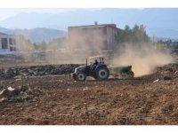 İslahiye Ovası'nda buğday ekimi için hazırlıklar başladı