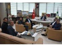 Karate Federasyonu Başkanı Delihasan'dan Başkan Beyoğlu'na Ziyaret