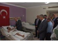 Başkan Kayda'dan Manisalı gaziye 'geçmiş olsun' ziyareti