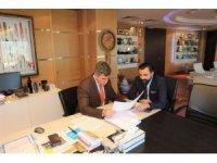 Başkan Aktürk'ten Feyzioğlu'na ziyaret