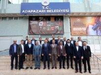 Başkan Işıksu, Sakaryaspor yönetim kurulunu misafir etti