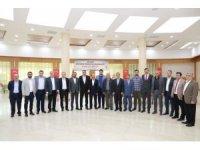 AK Parti İl Başkanı Dağtekin, ilçe başkanlarıyla bir araya geldi