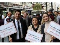Samsun'da diyabet yürüyüşü