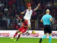 2020 Avrupa Futbol Şampiyonası Elemeleri: Türkiye: 0 - İzlanda: 0 (İlk yarı)